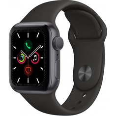 Умные часы Apple Watch Series 5 40 мм серый космос MWV82RU/A