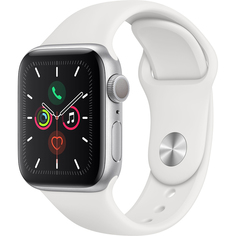 Умные часы Apple Watch Series 5 44 мм серебристый MWVD2RU/A
