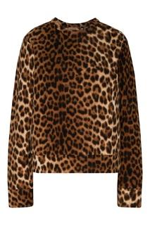 Свитшот с леопардовым узором No21
