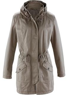 Куртки Парка из хлопка с воротником-стойкой Bonprix