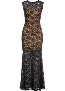 Длинные платья Вечернее платье макси из кружева Bonprix