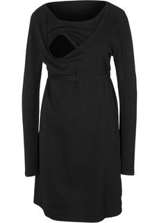 Платье с поясом Bonprix