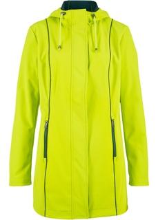 Демисезонные куртки Парка из материала софтшелл с контрастными швами Bonprix