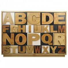 Комод Alphabeto Birch Этажерка