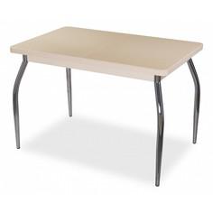 Стол обеденный Румба ПР с камнем Домотека