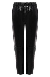 Кожаные брюки Mm6