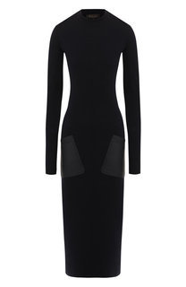 Платье из кашемира и шелка Loro Piana