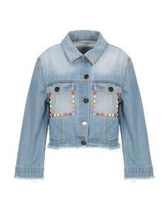 Джинсовая верхняя одежда Elisabetta Franchi Jeans
