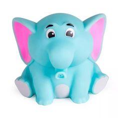 Игрушка HAPPY SNAIL для ванной Слонёнок Джамбо (разноцветный)