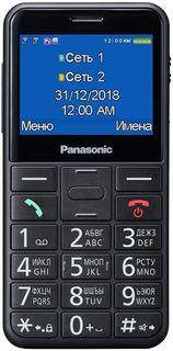 Мобильный телефон Panasonic TU150 (черный)