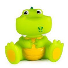 Игрушка HAPPY SNAIL для ванной Крокодил Кроко (разноцветный)
