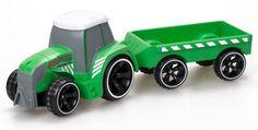 Радиоуправляемая игрушка Silverlit Трактор Tooko на ИК, с прицепом (разноцветный)