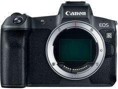 Фотоаппарат со сменной оптикой Canon EOS R Body + EF-EOS R адаптер (черный)