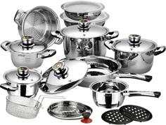 Набор посуды Vitesse Opaline (23 предмета)