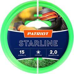 Леска PATRIOT для садовых триммеров Starline 805201056 Патриот