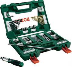 Набор инструментов Bosch V-line 91 предмет