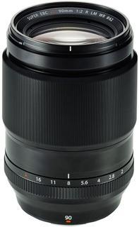 Объектив Fujifilm XF 90mm F2 R LM WR (черный)