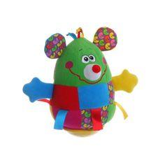Развивающая игрушка BONDIBON Неваляшка Мышь (разноцветный)