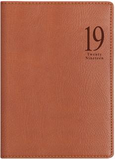Ежедневник LETTS MILANO A5 (светло-коричневый)
