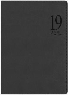 Ежедневник LETTS MILANO A5 (черный)