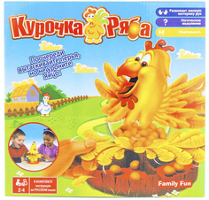 Настольная игра Family Fun Курочка Ряба