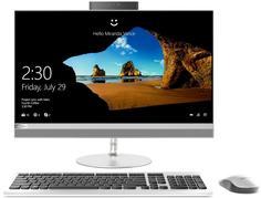 Моноблок Lenovo IdeaCentre 520-24IKU F0D200FHRK (серебристый)
