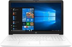 Ноутбук HP 15-db0066ur (белый)