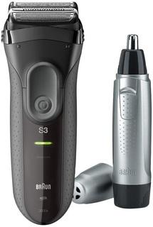 Электробритва Braun 3000s+триммер EN10 (черный)