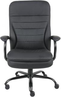Кресло руководителя BRABIX Heavy Duty HD-001 (черный)