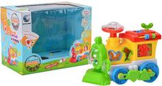 Интерактивная игрушка Noname 8688J Паровоз, со светом и звуком