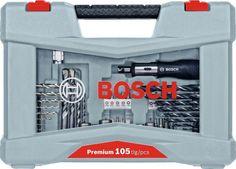 Набор оснастки Bosch Premium Set-105 (2608P00236) 105 предметов для шуруповертов