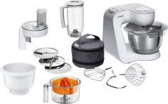 Кухонный комбайн Bosch MUM58243 (серо-белый)