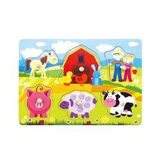 Развивающая игрушка BONDIBON Домашние животные (разноцветный)
