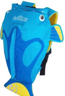 Рюкзак Trunki для бассейна и пляжа Коралловая рыбка (голубой)