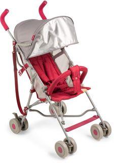 Коляска прогулочная Happy Baby Twiggy (красный)