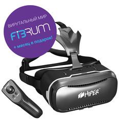 Очки виртуальной реальности HIPER VRQ+ (черный)