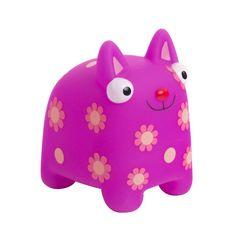 Развивающая игрушка Деревяшки Кошечка Мяу (розовый)