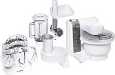 Кухонный комбайн Bosch MUM 4855 (белый)