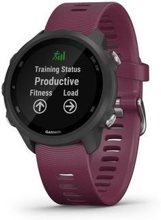 Спортивные часы Garmin Forerunner 245 (черно-фиолетовый)
