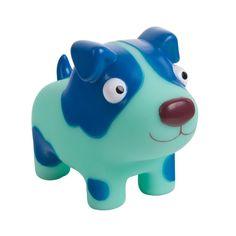 Развивающая игрушка Деревяшки Собачка Гав-Гав (синий)