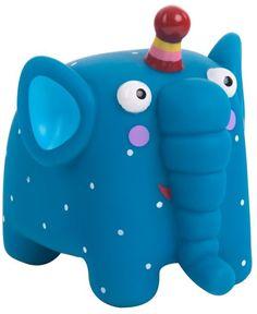 Развивающая игрушка Деревяшки Слон Ду-Ду (синий)