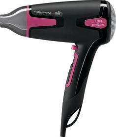 Фен Rowenta CV3812F0 (черный, розовый)