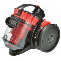 Пылесос Scarlett SC-VC80C98 (черно-красный)