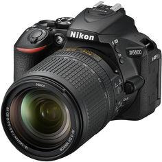 Зеркальный фотоаппарат Nikon D5600 KIT 18-140 VR (черный)