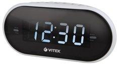 Радиочасы VITEK VT-6602 (белый)