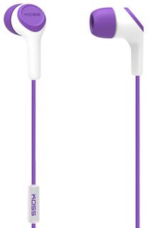 Наушники Koss KEB15i (фиолетовый)