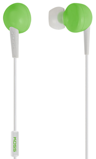 Наушники Koss KEB6i (зеленый)