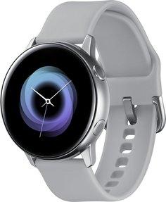 Умные часы Samsung Galaxy Watch Active (cеребристый лед)