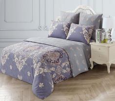 Комплект постельного белья KAZANOVA Фарнезе, евро (с рисунком)