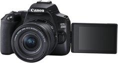 Цифровой фотоаппарат Canon EOS 250D 18-55IS STM (черный)